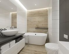 łazienka duża - zdjęcie od INNers - architektura wnętrza Bathroom Remodel Shower, House, House Bathroom, Bathroom Interior Design, House Styles, House Inside, New Homes, Modern Bedroom Interior, Bathroom Design Small