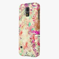 It's cute! This Vintage Floral Aztec Retro Pink Patchwork Galaxy S5 Cover is completely customizable and ready to be personalized or purchased as is. Click and check it out!