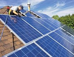 """""""Leasing Solar Panels"""" For those who can't afford the upfront cost of a solar electric system, one option is to secure a loan so that you can make monthly payments. In some cases, this option can result in payments lower than your current monthly electric bill. From MOTHER EARTH NEWS magazine. #RenewableHomeEnergy"""