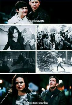 Awesome Snow Charming Regina Emma Robin