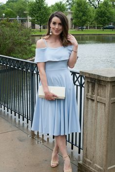 Wedding Guest Ready | wedding guest outfit, spring outfit, Leith, Nordstrom, BaubleBar, YSL.
