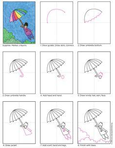 Flying Umbrella Kid Tutorial