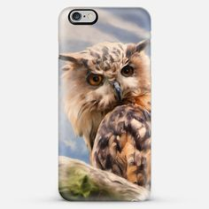 new at @casetify: #Painting #Owl #iPhone 6 #Cases