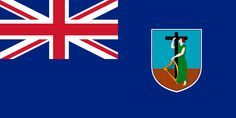 Blue field with Union Jack in the top left corner and coat of arms in the field. Montserrat is a Caribbean island—specifically in the Leeward Islands, which is part of the chain known as the Lesser Antilles, in the British West Indies. It is a British Overseas Territory. Montserrat measures approximately 16 km (10 mi) long and 11 km (7 mi) wide, with approximately 40 km (25 mi) of coastline. Montserrat is nicknamed The Emerald Isle of the Caribbean