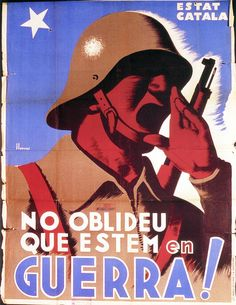 Don't forget we are at war! 1937 by kitchener.lord, via Flickr