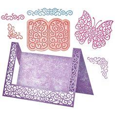 Cheery Lynn Designs - A2 Fancy Step Card Kit (Set of 8) - B570, $59.95 (http://www.cheerylynndesigns.com/a2-fancy-step-card-kit-set-of-8-b570/)