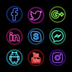 Iphone Png, Iphone Icon, Social Network Icons, Social Icons, Social Png, Wallpaper Iphone Neon, Iphone Wallpaper Tumblr Aesthetic, Instagram Logo, Icon Design