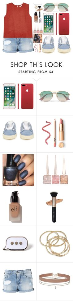"""""""This Is How We Do It"""" by bbrinee on Polyvore featuring Gucci, Yves Saint Laurent, Christian Louboutin, e.l.f., PINTRILL, ABS by Allen Schwartz, Armani Jeans, Miss Selfridge, Eileen Fisher and Summer"""