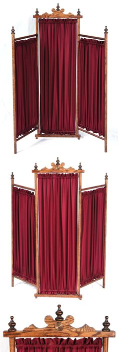 Inspired Whims Room Divider Curtain Another Book Sling: Shabby Chic Victorian Style Iron Metal Room Divider