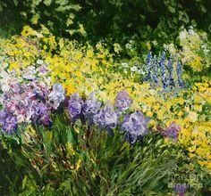 Sunshine Blossoms Painting by Allan P Friedlander