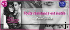 Les Reines de la Nuit: Concours : Toute résistance est inutile de Cora Ca...