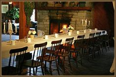 Hatfield Farm Photo - a deliscious meal can be yours to enjoy: weddings, coorporate events, family reunions