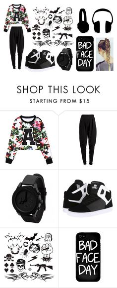 """""""Sans titre #162"""" by amandine15-06 ❤ liked on Polyvore featuring Pieces, Supra and Local Heroes"""