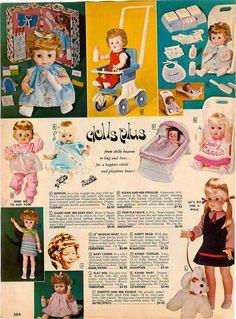 1969 AD Horsman Dolls Thirstee Walker LI'L Miss Fussy Baby Party Drowsy Baby | eBay