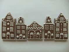 Netherlands' Canal Street gingerbread  houses