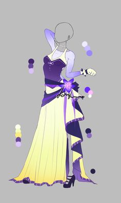 Outfit design - 285 - closed by LotusLumino on DeviantArt
