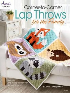 Corner-to-Corner is a fun and unique way of crocheting! By following a pixel graph instead of a written pattern, you can incorporate virtually any character or image you want into a crochet blanket. T