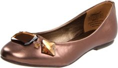 Wanted Shoes Womens Emerald Ballerina FlatBronze6 M US * Check this awesome product by going to the affiliate link Amazon.com at the image.