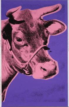 Cow, 1976 by Andy Warhol © The Andy Warhol Foundation for the Visual Arts, Inc. / DACS/Artimage 2017 #popart #cow #screenprint