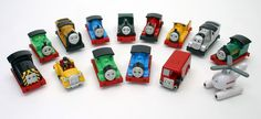 thomas and friends, never thought I would be able to name all these little guys!