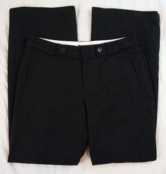Banana Republic Martin Fit Womens Black Dress Pants Size 8 (S7#522) #BananaRepublic #DressPants Denim Branding, Black Dress Pants, Big Star, Fit Women, Banana Republic, Casual Shorts, Pants For Women, Brand New, Jeans