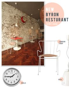 NEW! Bryon's Cosy Rustic-Meets-Diner Style Restaurant