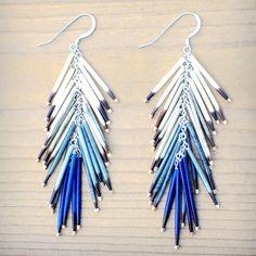 Quill Ombre Earrings by Beyond Buckskin Boutique