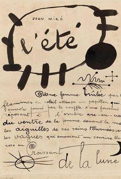L'été Joan Miro
