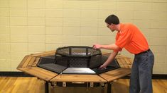 Firepit Grill Table The Jag Grilling Tips