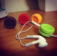 #Buttons #Earphone #Organizer #Organizador #fones #Botoes