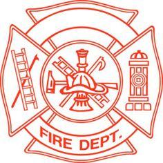 New Firefighter Badge Sticker Fireman Helmet Vinyl Flame Decal Truck Window Hot | eBay