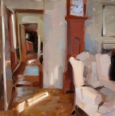 ◇ Artful Interiors ◇ paintings of beautiful rooms - Carol Marine