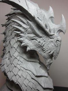 Brian Fay - Inkarnate Dragon Head
