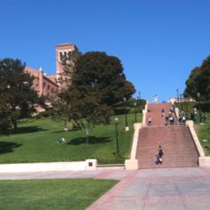 UCLA - Janss steps. Barely made it to the top when my daughter gave me a tour of her school.