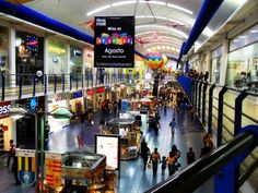 Albrook Mall in Panama City, Panama. An extremely large mall with a wide range of merchandise.