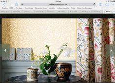 William Morris Wallpaper, Morris Wallpapers, Microsoft, Lounge, Curtains, Room, Furniture, Home Decor, Airport Lounge