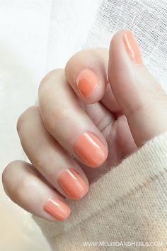 My nail polish color choice for this week ( Essie – Serial Shopper)