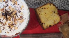 I miss Christmas!  And this Panettone Trifle with Ricotta & Amaretto.
