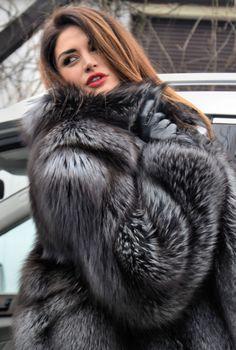 2015 royal saga fox renard argenté renard veste fourrure comme veste chinchilla…