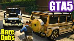 GTA 5 CoOp - Finding Rare Chrome & Gold Dubsters w/Friends