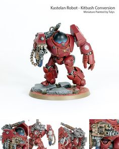 Adeptus Mechanicus, Admech, Dreadnought, Kastelan, Kitbash, Robot