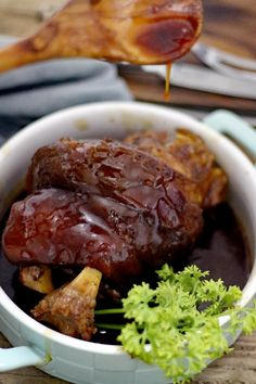 Pata Tim is a popular Filipino-Chinese dish of braised pork hock that is cooked long and slow until Chinese Bbq Pork, Asian Pork, Pork Recipes, Asian Recipes, Cooking Recipes, Pork Shoulder Butt Recipe, Pork Shanks Recipe, Pata Recipe, Pork Hock