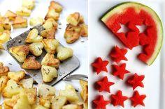 Preciosas recetas de comida divertida infantil, ideales para un fiesta