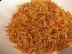 Arroz Con Zanahorias Delicioso, Con Sabor Boricua