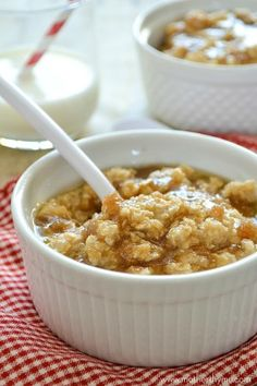 Quick and Easy Maple and Brown Sugar Oatmeal
