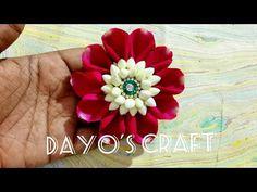 How to make designer Bridal Jada | Hair Accessoriess Jewellery | design No 192 - YouTube