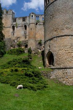 Beaufort castle in Luxembourg