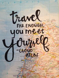 Traveling the world and learning about the rest of the world will also teach you about yourself. Start your journey on The Culture Trip. (photo credit: luckylanestudio on Etsy) #travelquote #travel #wanderlust