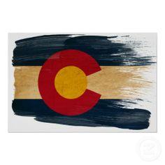 Colorado Flag Posters