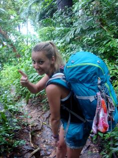 How to Pack Light: 9 Tips for Woman Packing for a Backpacking Trip.  #travel #packing #tips